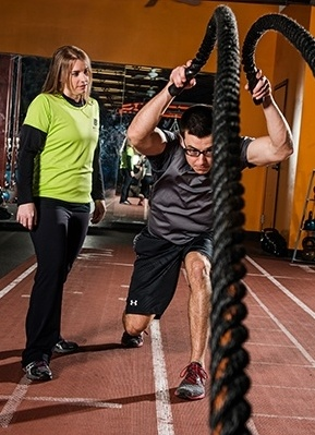 body fit group training class at cal fit