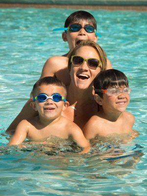 swimming pools and lessons