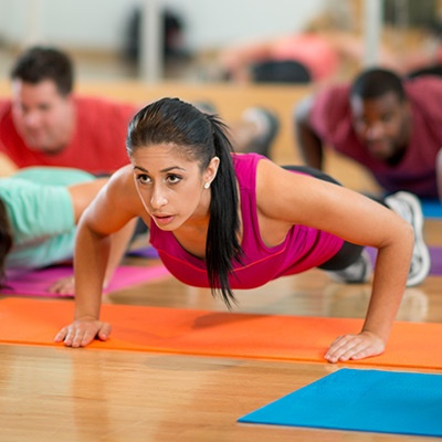 Boot Camp Workout at California Family Fitness