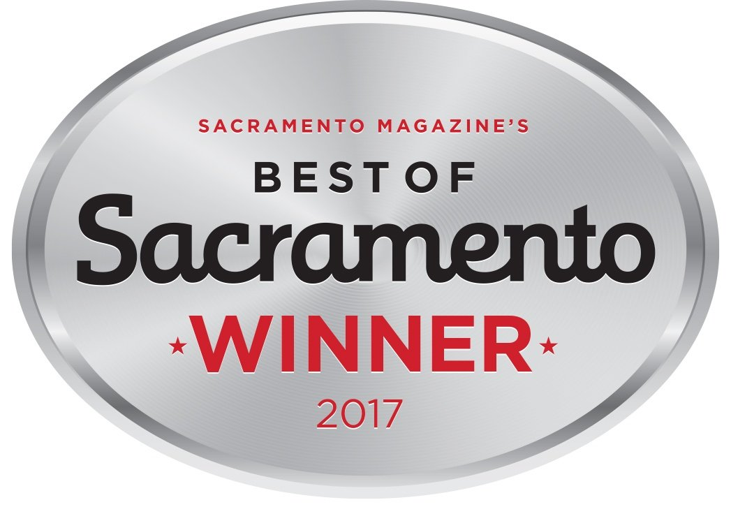 best gym in sacramento badge