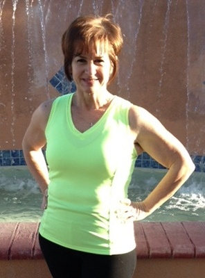 personal training weight loss after pic of cal fit gym member