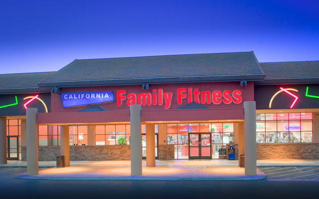 California Family Fitness Exterior
