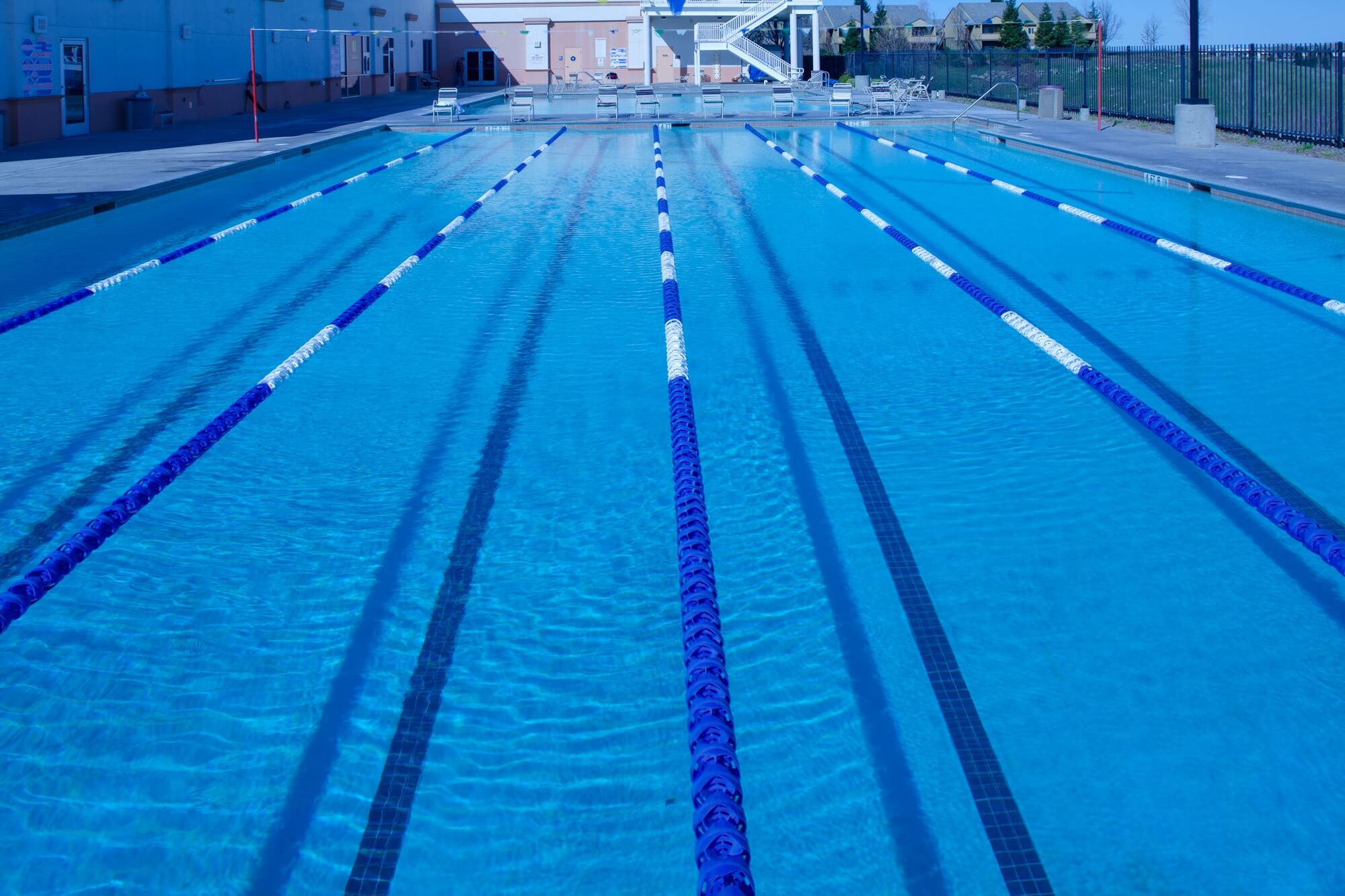 pool ready for water aerobics classes in rocklin ca