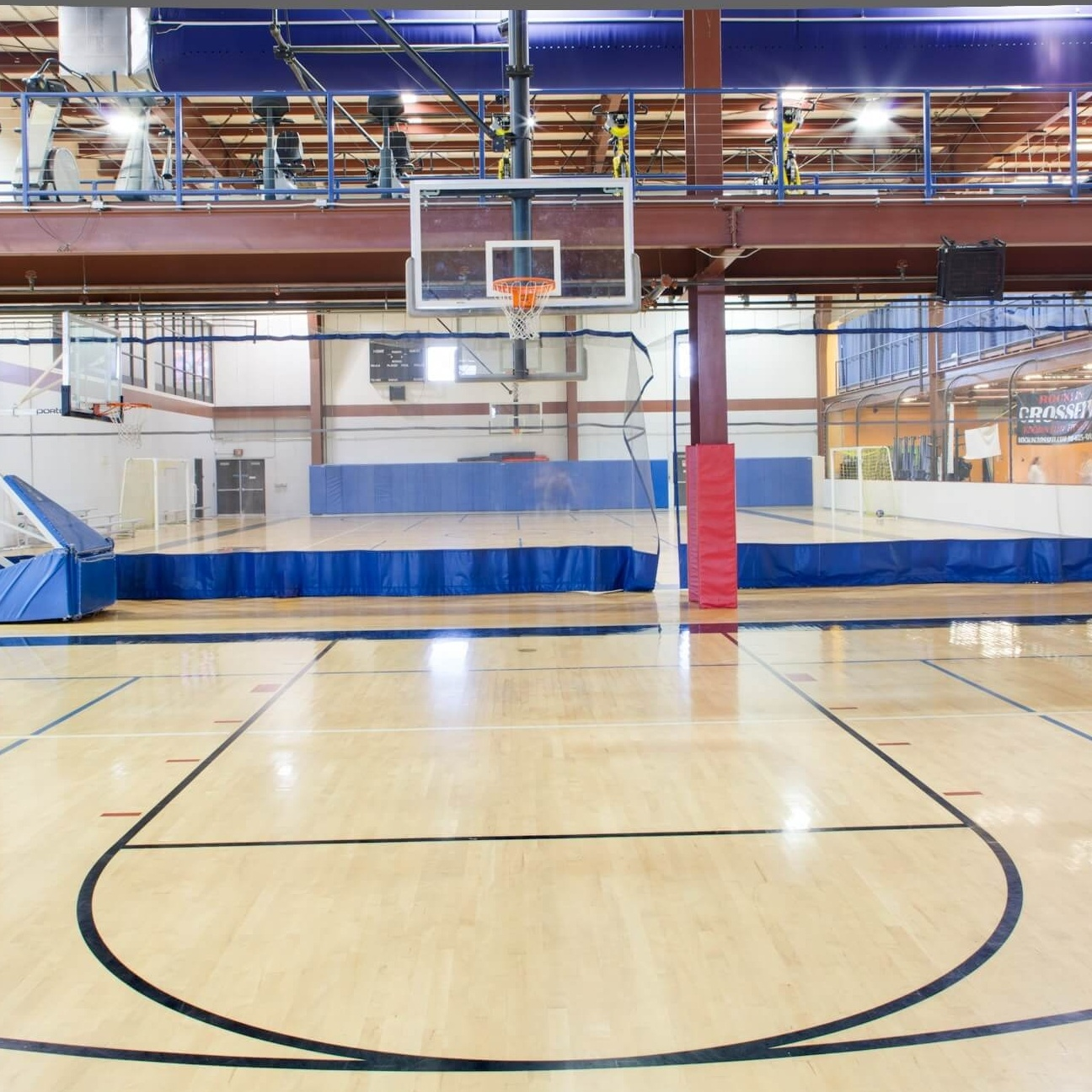 basketball court at rocklin sports complex