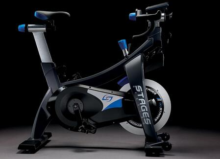 example of new stage bike in sacramento indoor cycling class