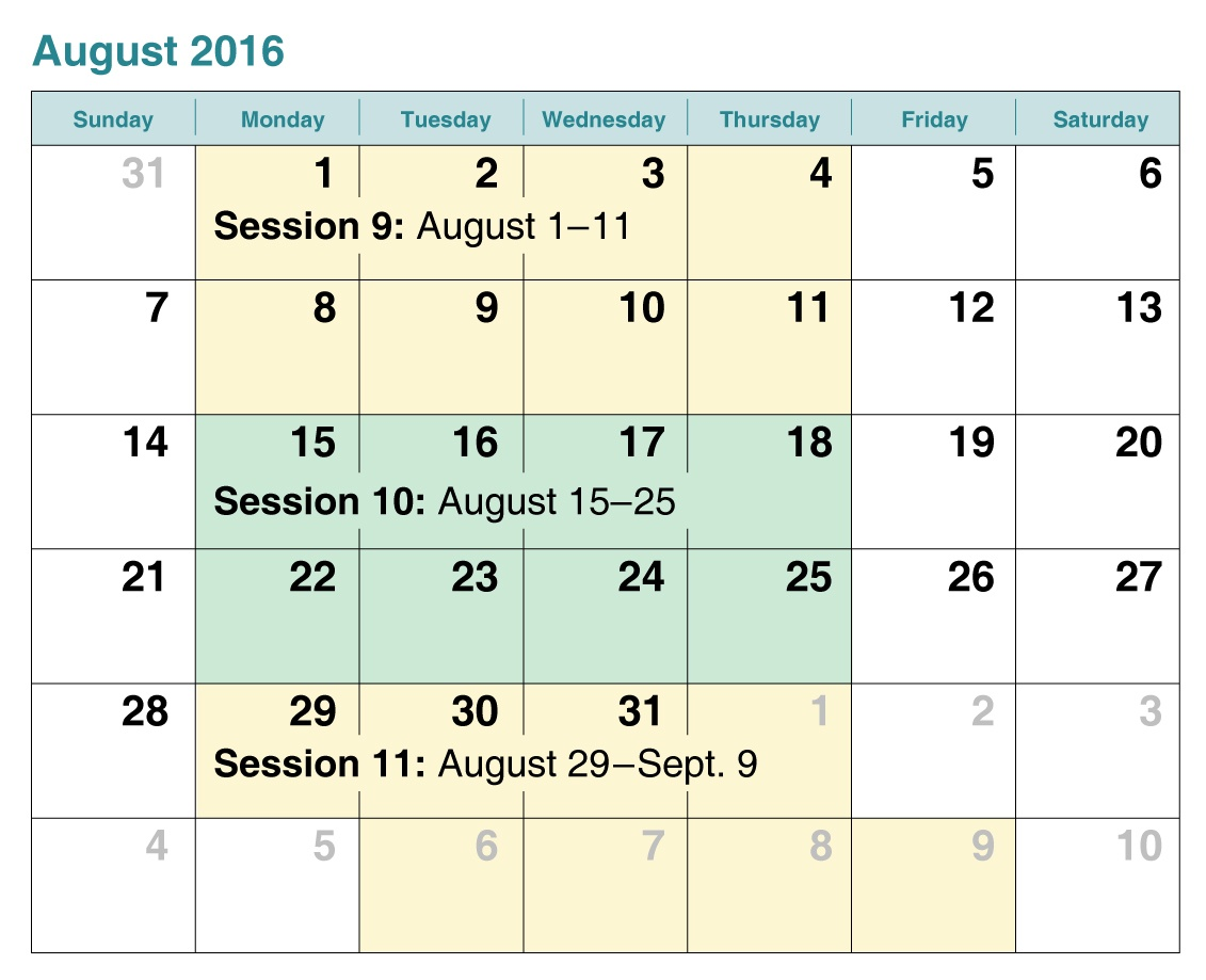 August swim lessons schedule Orangevale Sacramento ca