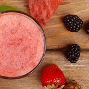 Smoothie and Fruit